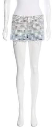 J Brand Ombré Mini Shorts