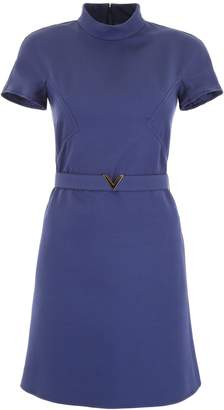 Valentino Belted Mini Dress