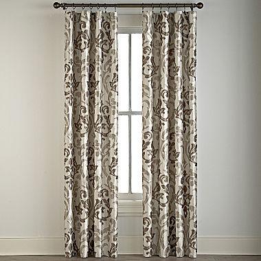 Trivoli Rod-Pocket Curtain Panel