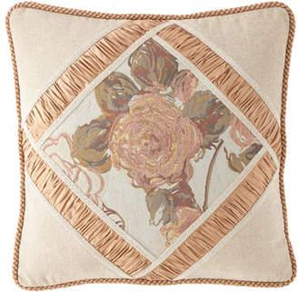 Austin Horn Collection Beauty Framed Pillow