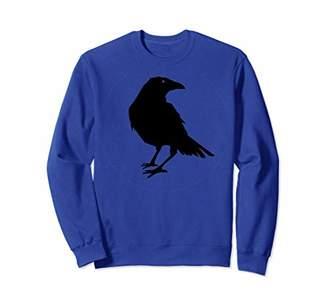 Beautiful Black Crow Raven Bird Silhouette Tee Sweater