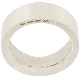 Le Gramme 9 grams slick brushed ring