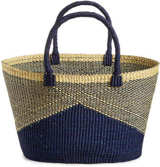 Global Goods Partners Chevron Striped Extra-Large Basket