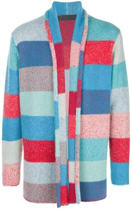 The Elder Statesman striped knit cardigan