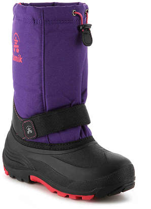 Kamik Rocket Youth Snow Boot - Girl's