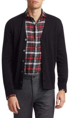 Saks Fifth Avenue COLLECTION Wool Cardigan Sweater