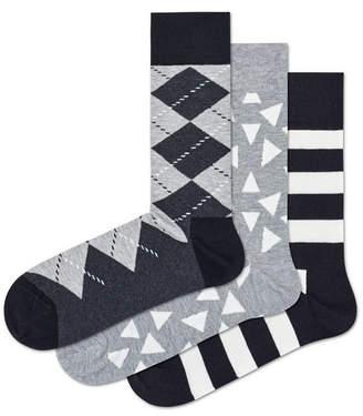 Happy Socks Argyle 3-Pack Socks