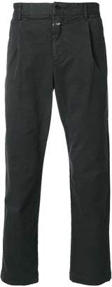 Closed regular fit trousers