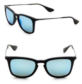 Ray-Ban 50MM Mirrored Square Sunglasses