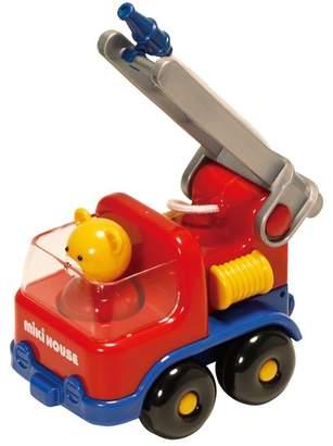 Mikihouse (ミキハウス) - ミキハウス 消防車【1歳半から 赤】【箱入】
