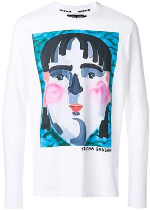 House of Holland Banban print sweatshirt