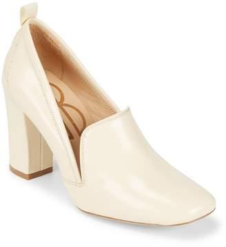 Bill Blass Women's Laverne Leather Closed Toe Pumps