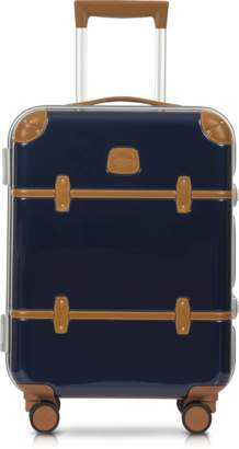 """Bric's Bellagio Metallo V2.0 21"""" Blue Carry-On Spinner Trunk"""