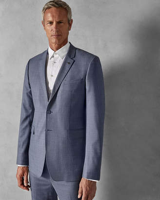Ted Baker STROJTT Debonair plain wool suit jacket