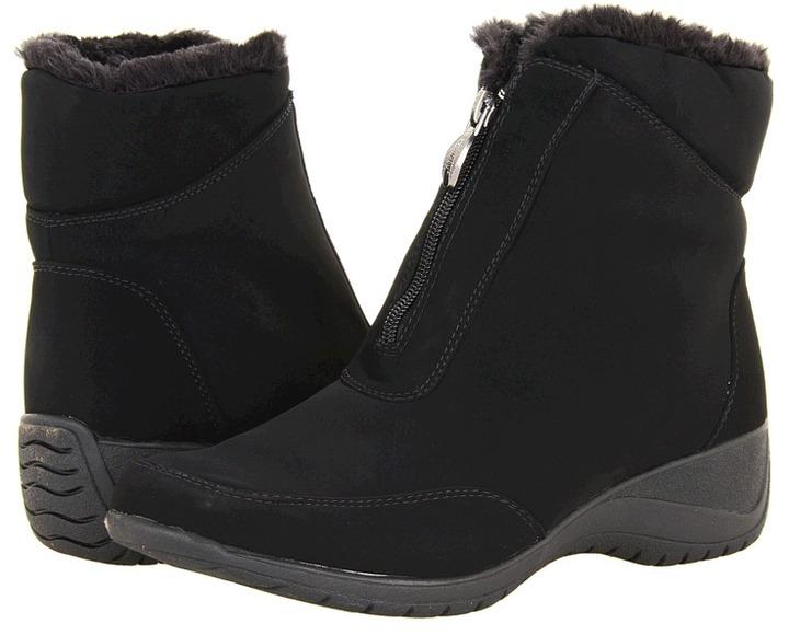 Khombu Maple Zip 4 (Black) - Footwear