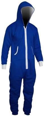 SkylineWears Mens Onesie Fashion Playsuit Unisex Jumpsuit