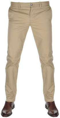 Original Penguin P55 Stretch Chino Trousers Brown