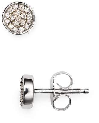 Adina Pavé Diamond Stud Earrings