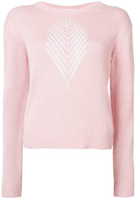 Julien David crew neck jumper