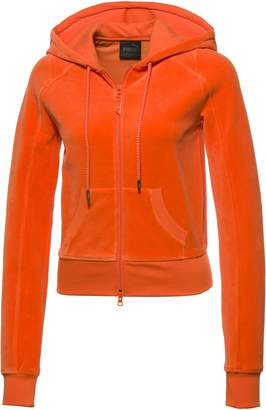 FENTY Women's Velour Fitted Zip-Up Track Jacket