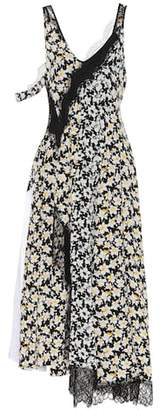 Joseph Daffodil Bronte silk dress