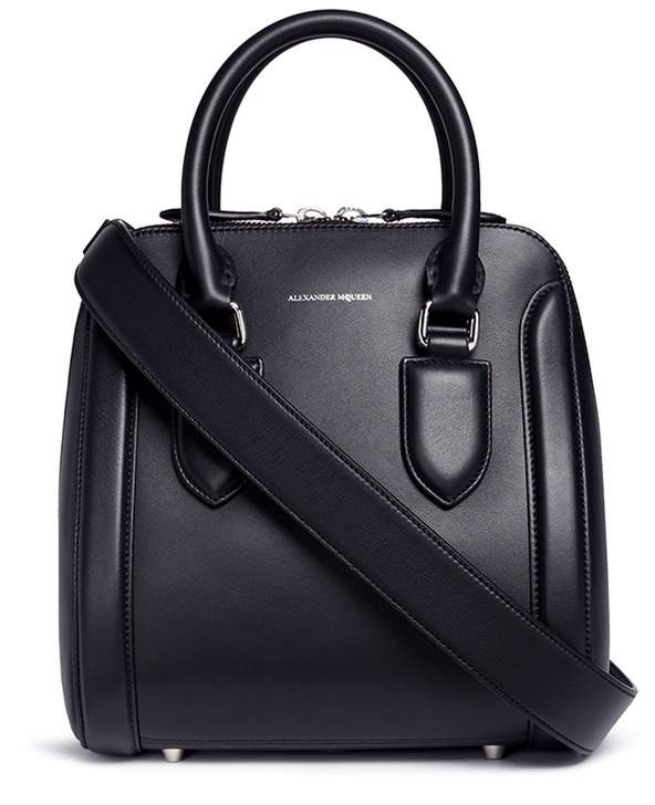 Alexander McQueen Alexander McQueen 'Heroine' medium leather bag