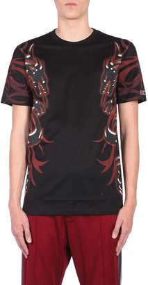 Lanvin T-shirt With Dragon Tribal Print
