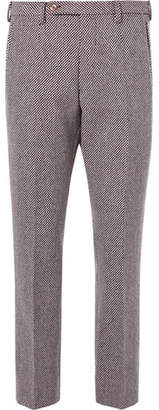 Gucci Birdseye Wool-Blend Trousers