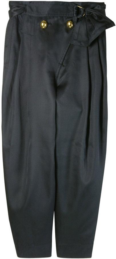 Marc Jacobs Silk Wrap Pants