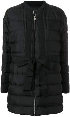 Moncler Gamme Rouge collarless padded coat