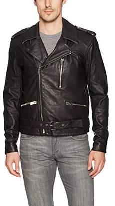 Joe's Jeans Men's Mick Leather Moto