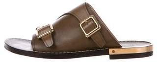 Chloé Leather Slide Sandals