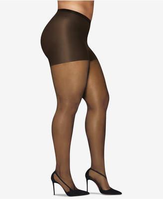 Hanes Plus Size Silky Sheer Pantyhose