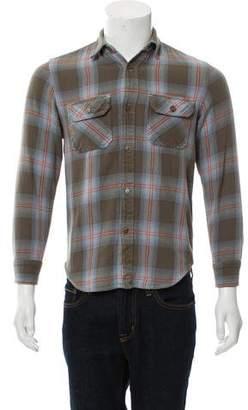 Steven Alan Plaid Button-Up Shirt
