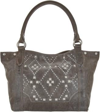 Frye Leather Melissa Stud Shoulder Bag
