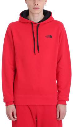 The North Face Red Cotton Sweatshirt