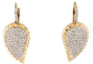 Phillips House 14K Two-Tone Diamond Drop Earrings