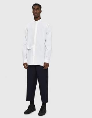 Jil Sander Ritmo Band Collar Shirt