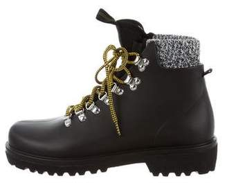 Barneys New York Barney's New York Lace-Up Ankle Boots