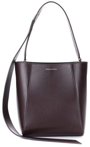 Calvin Klein 205W39NYC Small Bucket leather tote