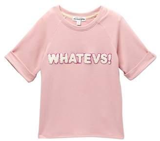Ten Sixty Sherman Fleece 'Whatevs' Pullover (Big Girls)