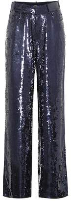 Polo Ralph Lauren Sequined flared pants