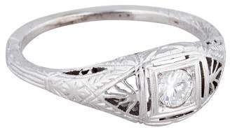 Ring 18K Filigree Diamond