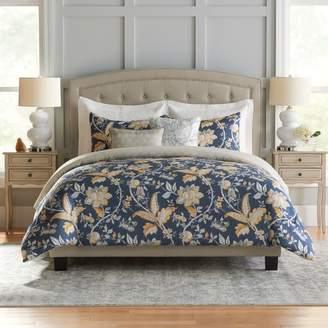Croft & Barrow Jacobean Cotton 5-piece Reversible Comforter Set