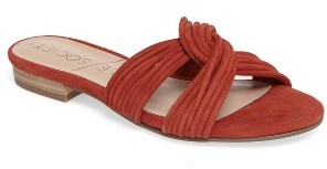 Women's Sole Society Dahlia Flat Sandal $79.95 thestylecure.com