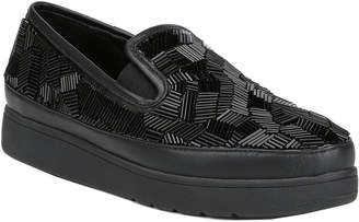 Donald J Pliner Mickey Satin Sneaker