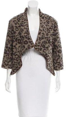 Thakoon Addition Wool Printed Jacket