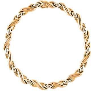 Cartier 18K X Link Necklace
