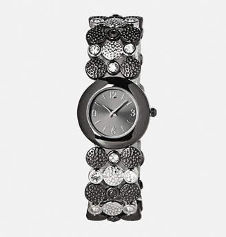 Avenue Hammered Stone Stretch Watch