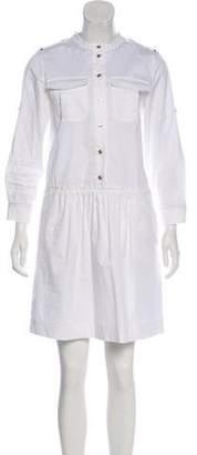 Burberry Long Sleeve Mini Dress